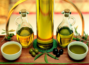 Olive oil in the process of developing appropriate