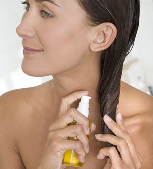El tratamiento de los cabello el preparado