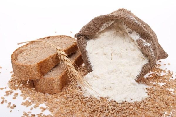 Harina de trigo que contiene gluten